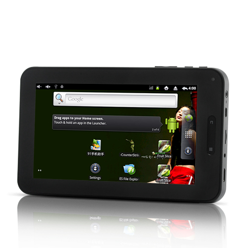 Ingenium - Android Tablet (7 Inch, 800x480, 1.2GHz CPU, 4200mAh)