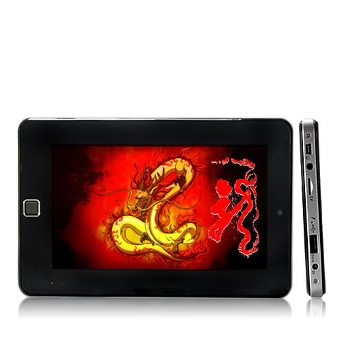 Nine Dragon - 7 Inch, Multi-Touch Android Tablet + Quad-band Phone