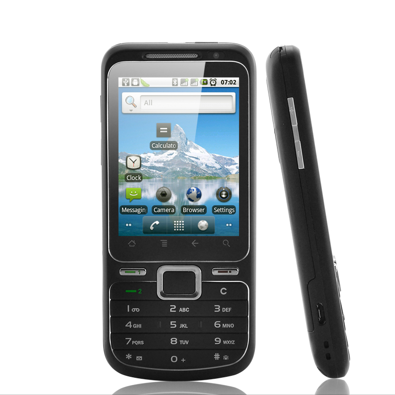 Halcyon - 2.6 Inch Touchscreen Android 2.2 Smartphone (Wi-Fi, Dual SIM)