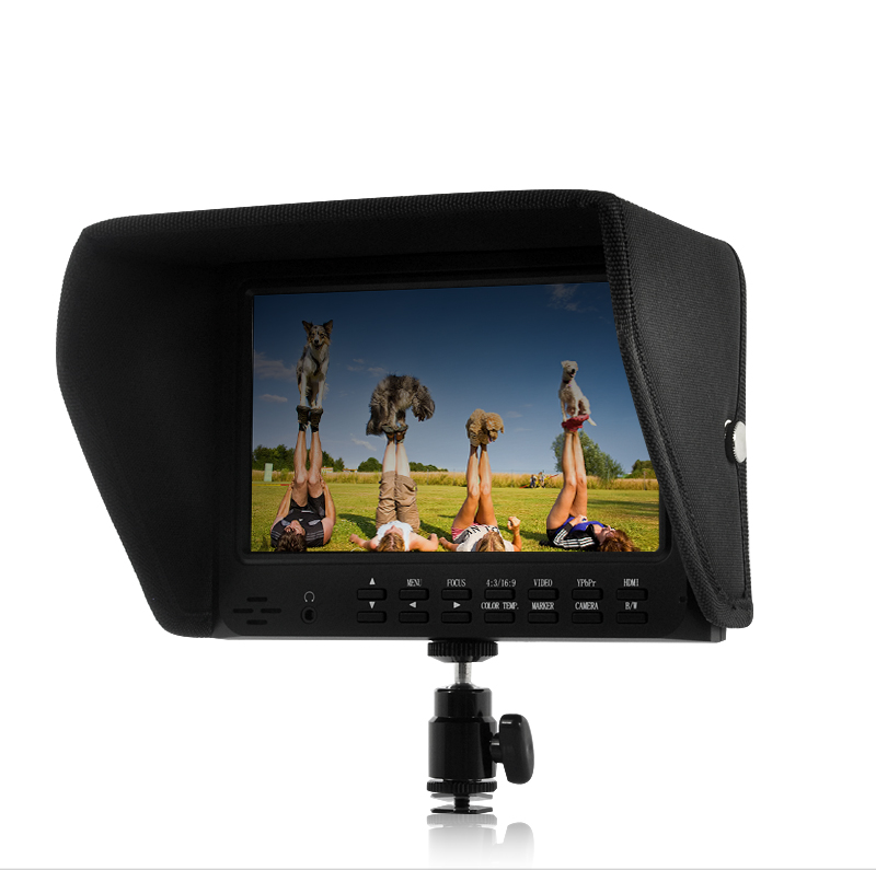 Wholesale 7 Inch On-Camera 1080P Monitor for DSLR (Built-in Speaker, HDMI Out)