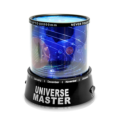 Wholesale Universe Master - Mini Color LED Rotated Projector