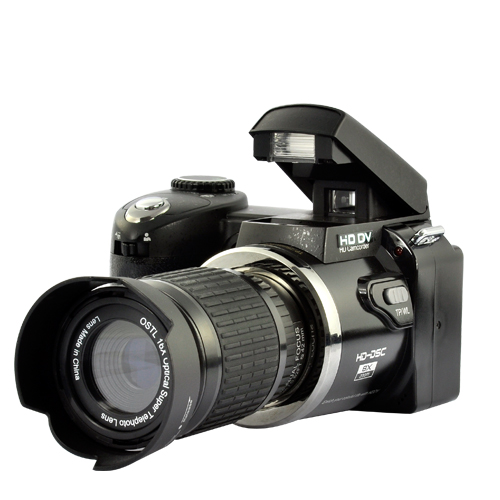Wholesale 720P Digital Camcorder with 16x Optical Telescope Zoom Lens