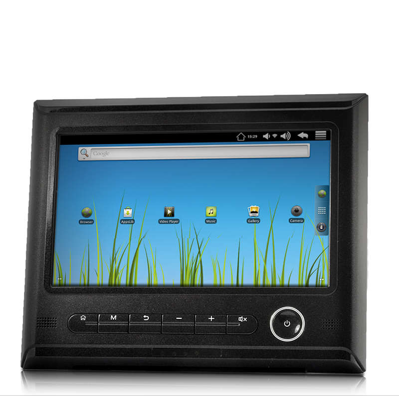 9 Inch Android 2.3 Tablet for Car Entertainment (1 GHz CPU, HDMI, 1080P)