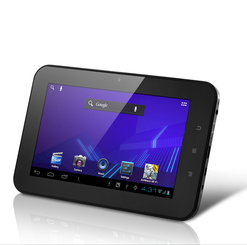 Xinc - Android 4.0 Tablet PC - Black (7 Inch Multi Touch, 1 GHz A10 CPU)