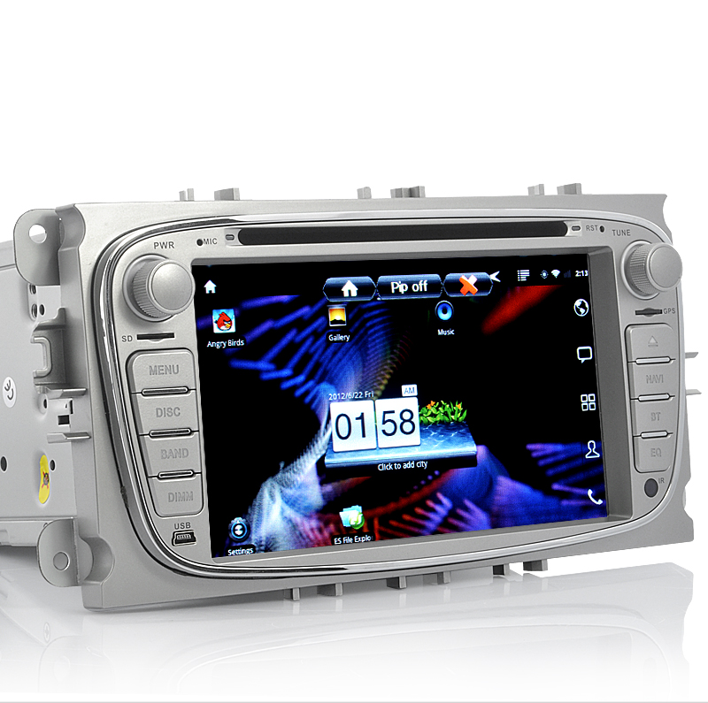 Road Drone - Android 2.3 Car DVD Player for Ford Mondeo (7 Inch, DVB-T, GPS, 3G, WiFi)
