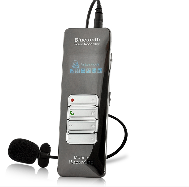 Wholesale Bluetooth One-button Voice and Call Recorder for Cell Phones (1