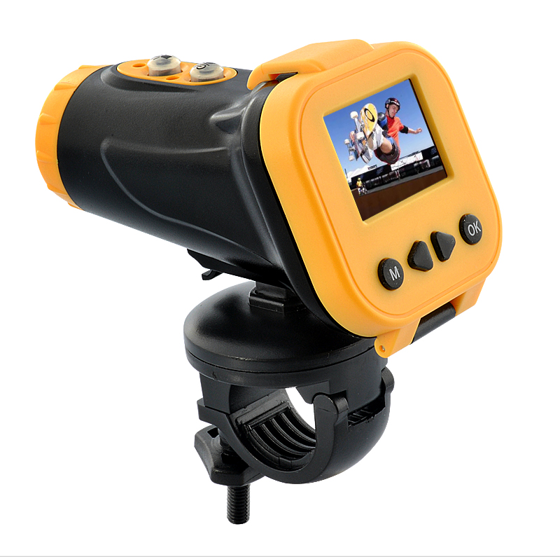 Wholesale 1080P Full HD Extreme Sports Action Camera (Waterproof, 1.5 Inch Screen, HDMI Out)