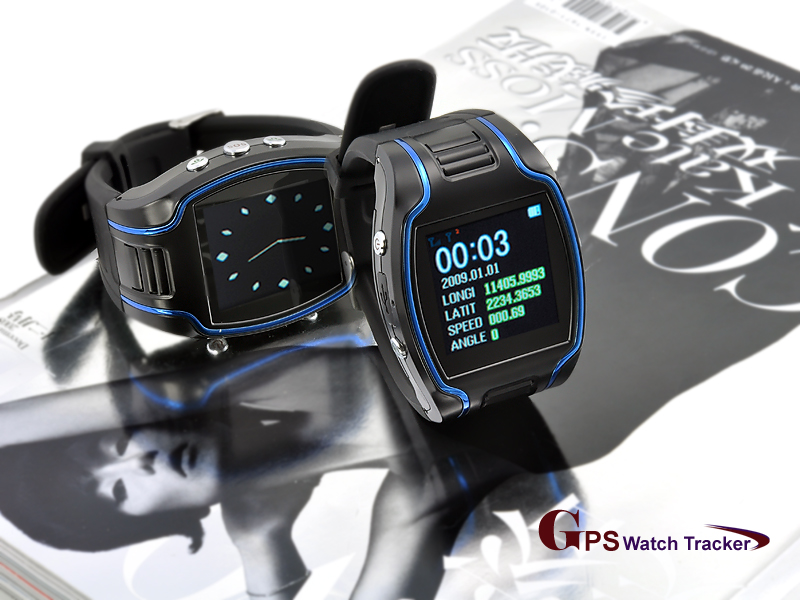 Wholesale Quadband GPS Cellphone Watch with Two Way Calling