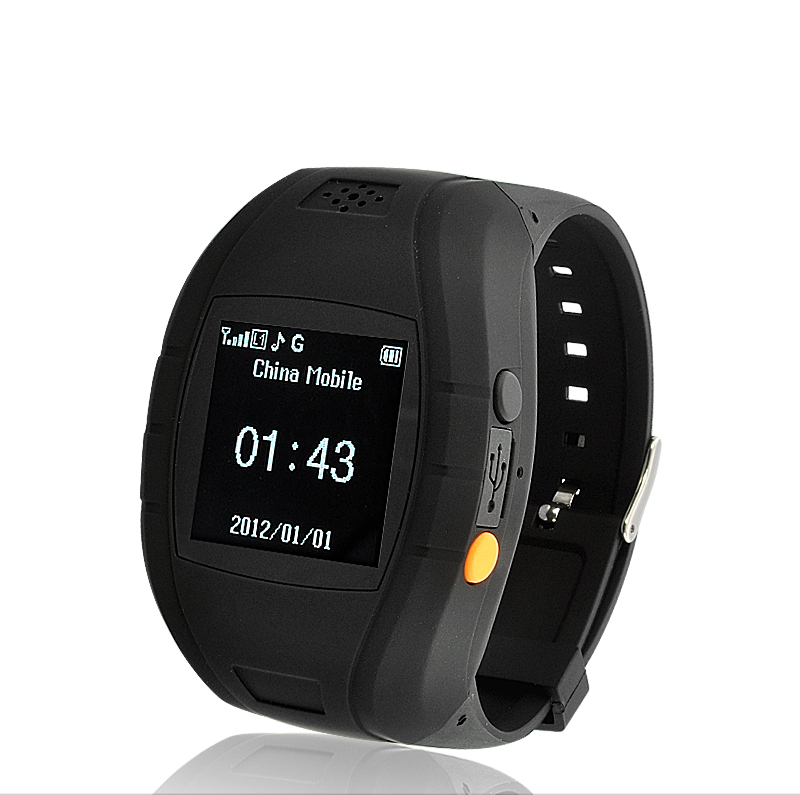 Quadband Mobile Phone Wrist Watch (GPS Tracking, SOS Calls ...