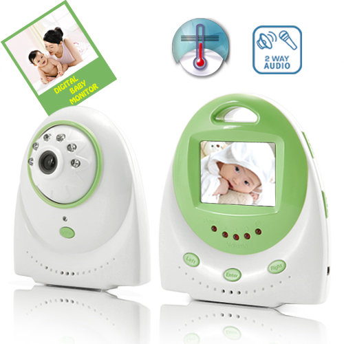 Wholesale Wireless Baby Monitor with Automatic Nightvision, Two Way Communication and AV Out