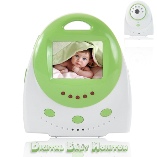 Wireless Baby Monitor With Automatic Nightvision Two Way