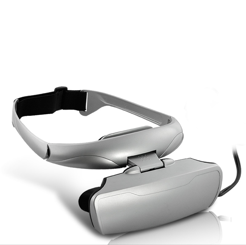 Video Glasses with Speakers for Video Games and Movies (36 Inch Virtual Display, AV Out)