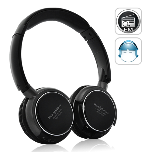 SoundMax - Over-the-Ear Headphone with MP3 Player and FM Radio