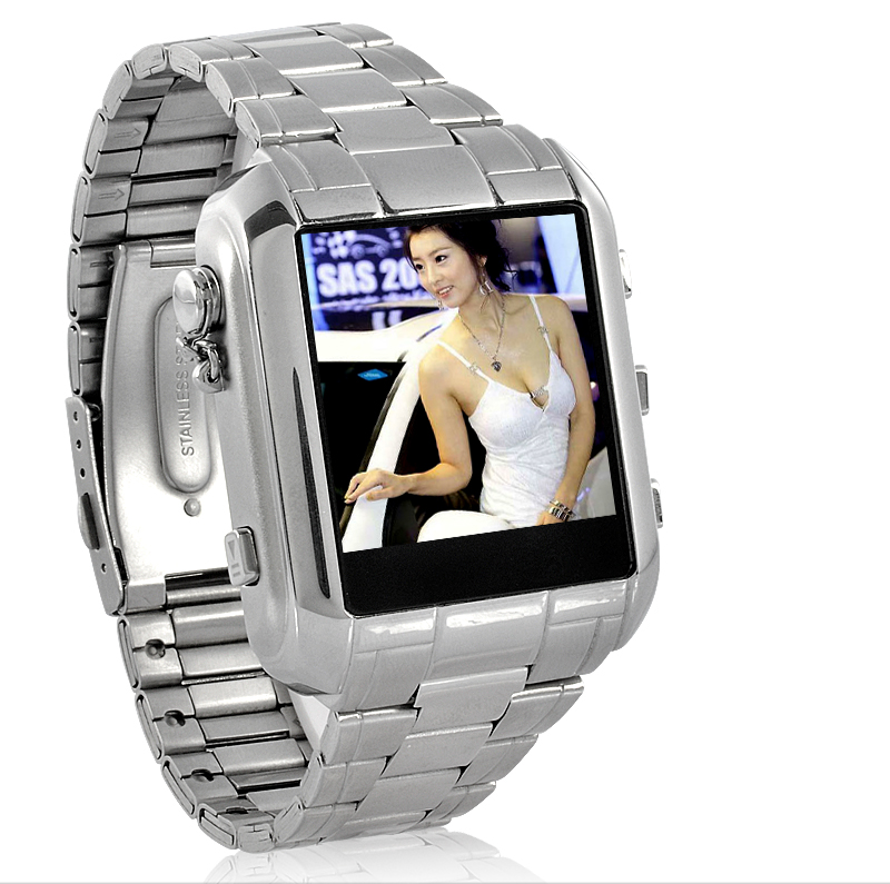 MP4 Player Watch + Voice Recorder + Digital Compass - 8GB