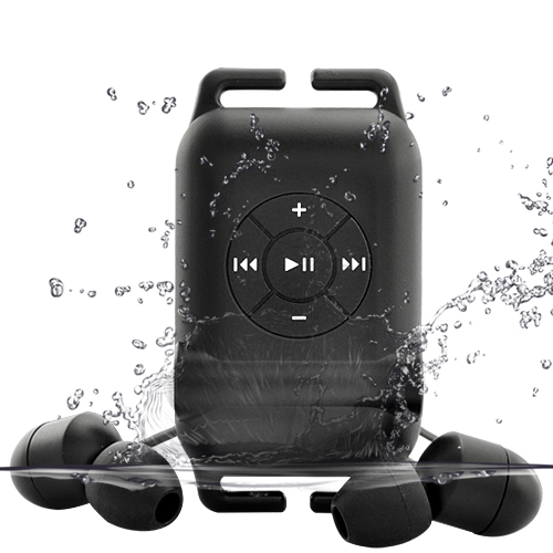 Waterproof Sports MP3 Player with Excellent Audio Output - 4GB