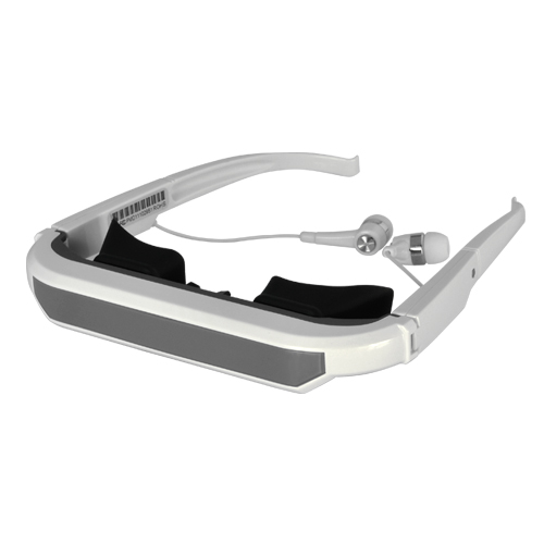 60 Inch Virtual Video Glasses with Stereo Sound Out for iPhone, iPad, iPod