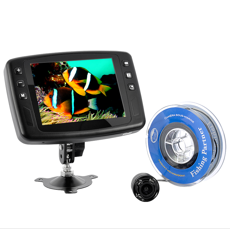 Fishing and Underwater Inspection Camera (3.5 inch Color Monitor, 15 Meter Cable)