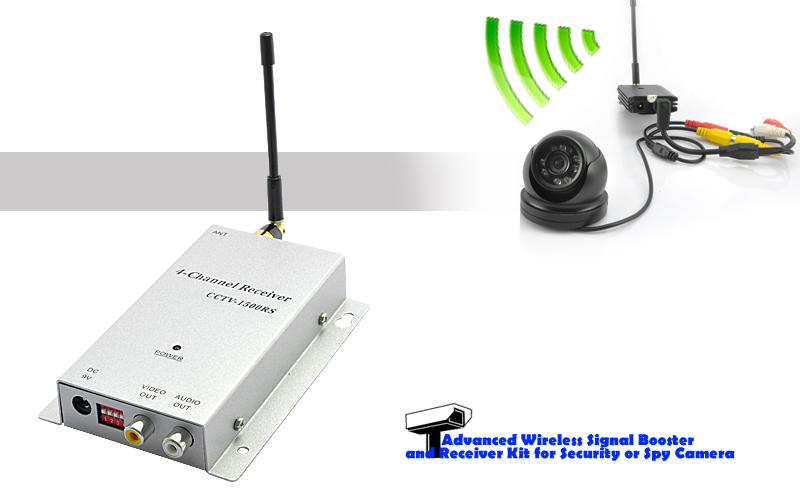 1 2ghz Wireless Signal Booster Receiver For Security