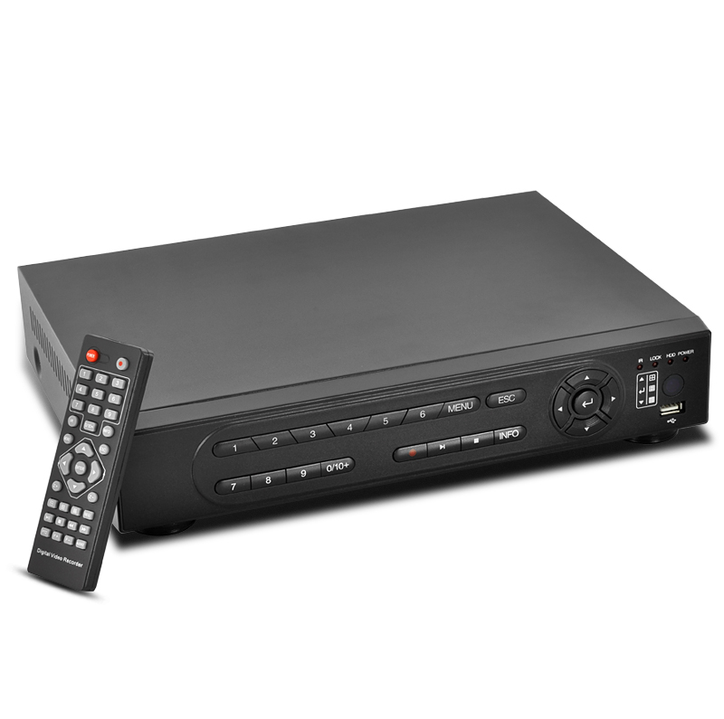 Wholesale 4 Channel Dual Stream Digital Video Recorder (H.264, Remote Access)