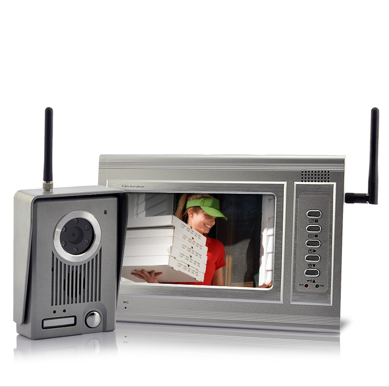 Metal Guardian   7 Inch Screen Wireless Video Door Phone With LED Night  Vision [TSH J81]  US$134.14   PlusBuyer.com