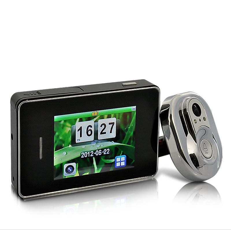 2.8 Inch Touchscreen Door Peephole Camera System with 170 Degree View