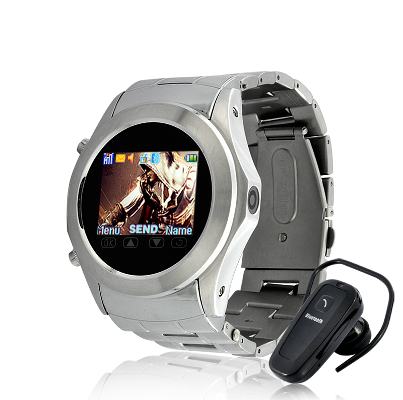 Assassin Dawn - Touchscreen Mobile Phone Watch with Video Camera - Silver