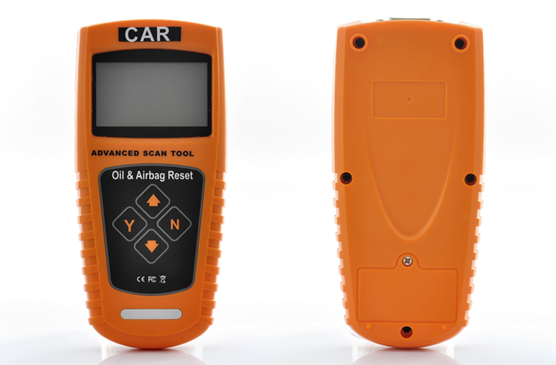 Car Oil Service Light + Airbag Reset Tool with Mileage Inspection
