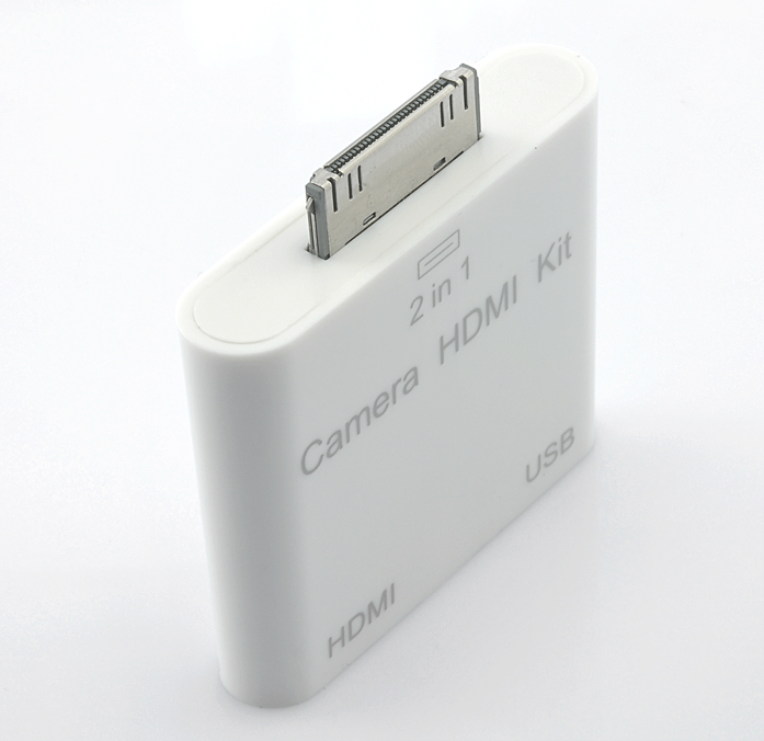 HDMI and Camera Connection Kit for iPad 2 (USB & 30 Pin Apple Input)