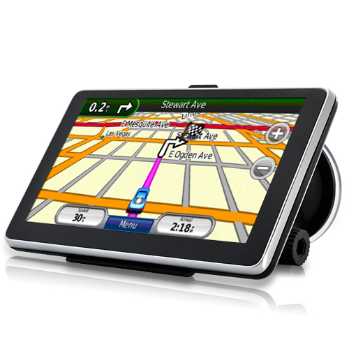 Handheld 6 Inch Touchscreen GPS Navigator with Bluetooth and FM Transmitter