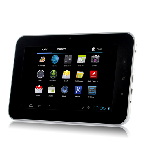 "Wholesale Xinc - Android 4.0 Tablet PC: 7"" Touchscreen, 1.2 GHz CPU, 512MB RAM, 4GB, White"