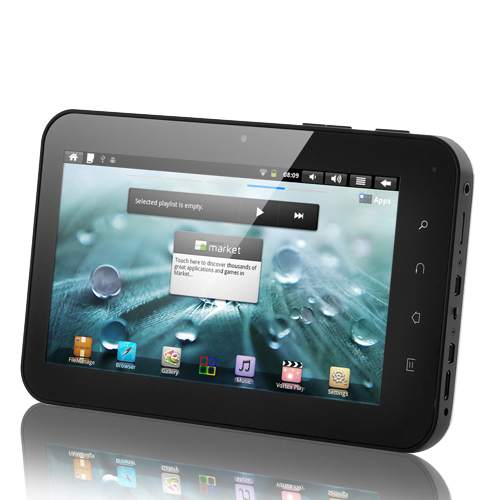 Alphecca - 7 Inch Capacitive Screen Android Tablet (1GHz CPU, Camera, 512MB RAM, HDMI, 4GB)