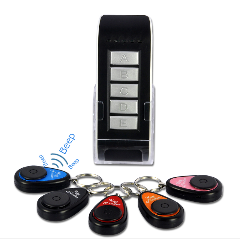 Wholesale Wireless Key Finder Set (1 Transmitter + 5 Receivers, 20 Meters)