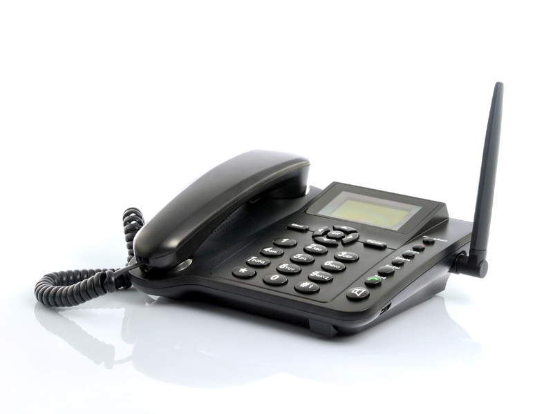 Wholesale Quadband Wireless Desk Phone with SMS Function - 2.4 Inches
