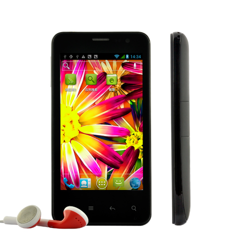 Chromium - 4.0 Inch HD 3G Screen Android 4.0 Phone with GPS and 1GHz CPU