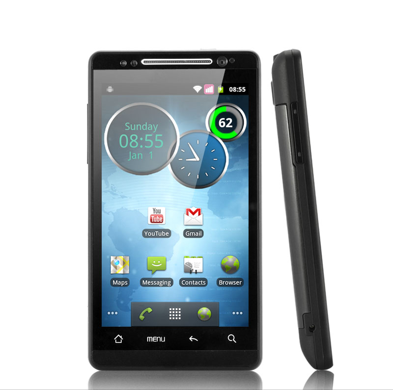 HD 2012 - 4.3 Inch HD 3G Android Phone with Dual SIM