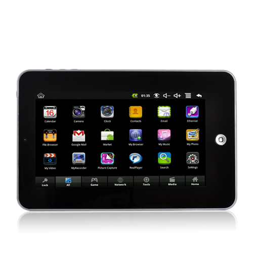 Tablet-X - 7 Inch Touchscreen Android Tablet: Camera, 800MHz CPU, 256MB RAM, 2GB