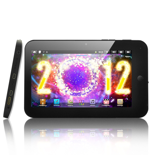 Cynosure - 7 Inch Touchscreen Android Tablet: 1GHz CPU, HDMI, 4000 mAh Battery