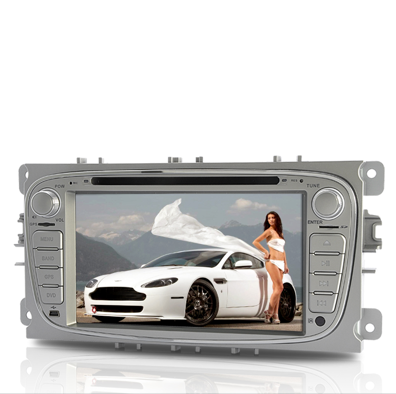 Road Star - 2-DIN 7 Inch Touchscreen Car DVD Player with GPS - For Ford Focus/Mondeo