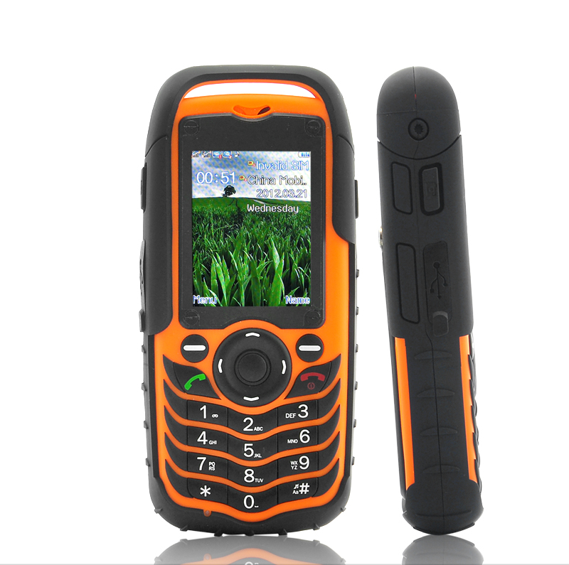 Wholesale Fortis - Dual SIM Mobile Phone - Orange Color (Rugged Waterproof, Dustproof, Shockproof)