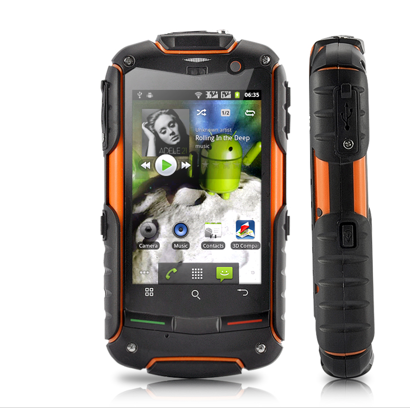 "Wholesale FortisX - 3.2"" Touchscreen 3G Android Phone with GPS (Rugged Waterproof, Dustproof, Shockproof)"