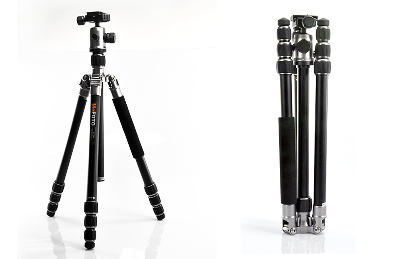 Portable Tripod Kit (Benro/MeFOTO A1340Q1, Ball Head)
