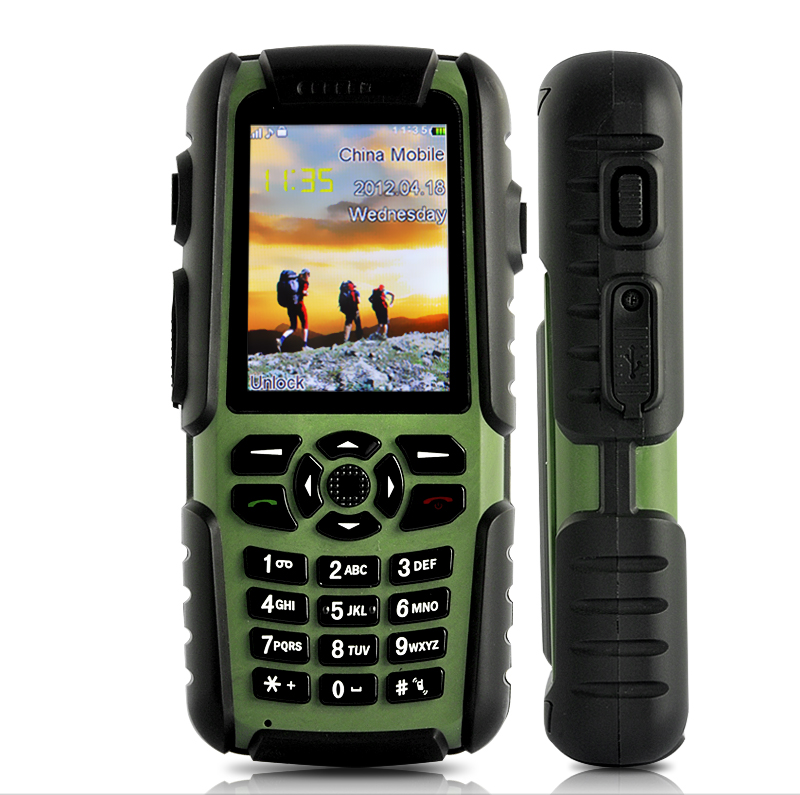 Wholesale Vigis - Outdoors Mobile Phone with Walkie Talkie, GPS, Bluetooth, Compass (Waterproof, Dustproof, Shockproof)