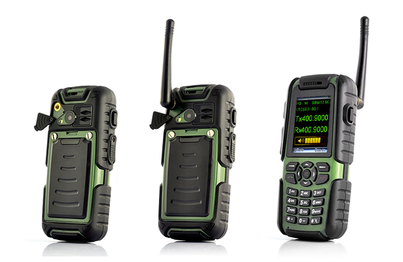 Vigis Outdoors Mobile Phone With Walkie Talkie Gps