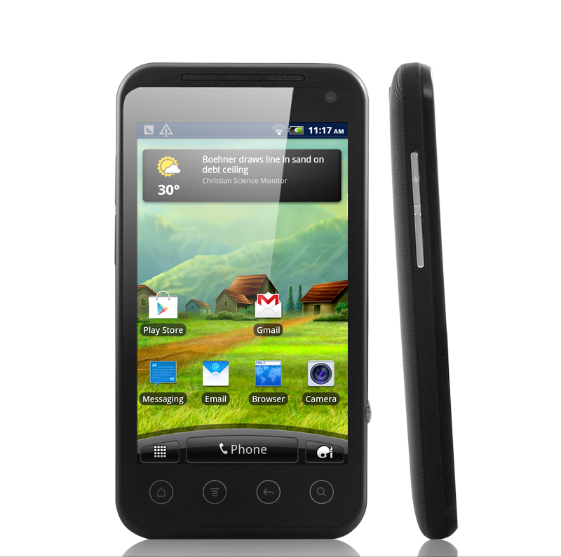 Matrix - 4 Inch HD Touchscreen 3G Android 2.3 Phone with GPS Navigator (1GHz CPU, 800x400)
