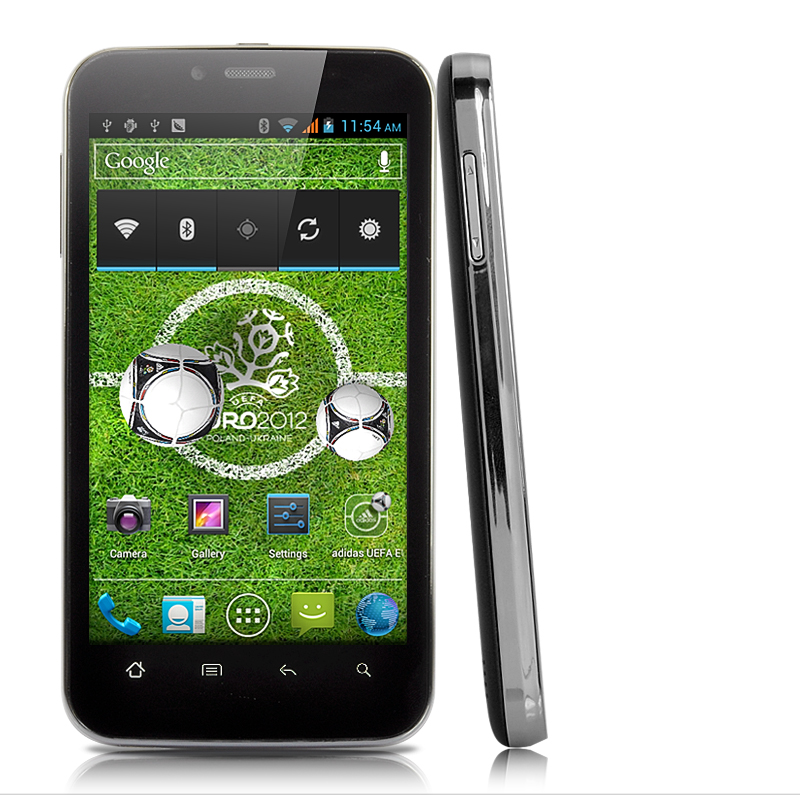 Elysium - 4.3 Inch Capacitive Android 4.0 Smartphone (1GHz CPU, GPS, Unlocked Dual SIM)