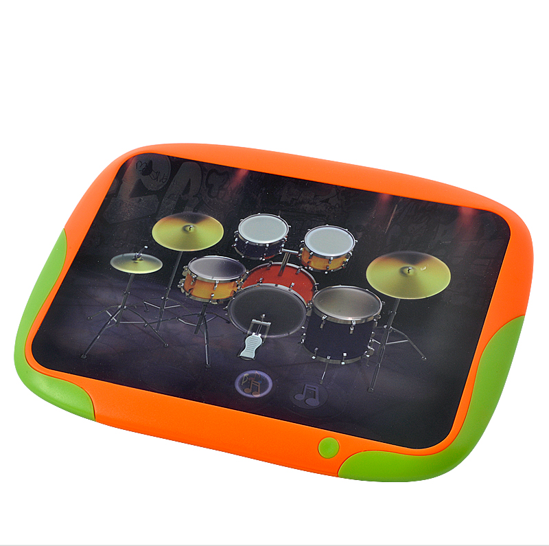 Digital Touch Drum with 8 Touch-sensitive Drum Pads - Cool Musical Gadget