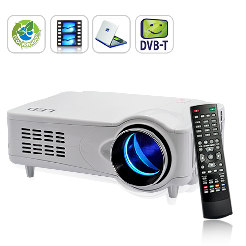 MediaMax Pro - DVB-T Multimedia Projector - White (TV Record, 800x600)