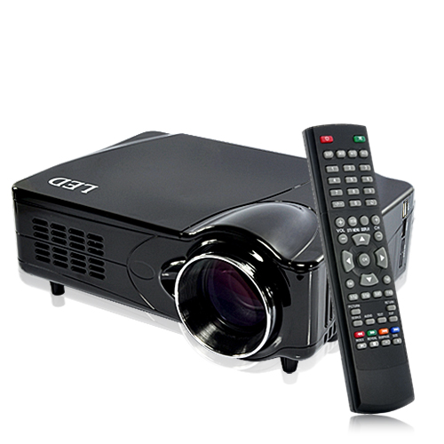 Wholesale MediaMax Pro - DVB-T Multimedia Projector - Black (TV Record, HDMI/VGA/AV Out)