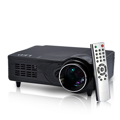 LED 1080P Multimedia Projector with Analog TV Tuner