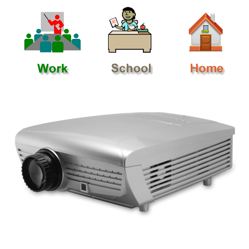 Multimedia LCD Projector (5 inch LCD, TV, 800 x 600)